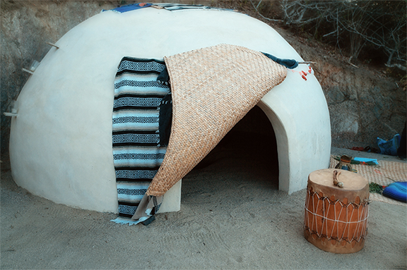 Experience a sweat lodge ceremony
