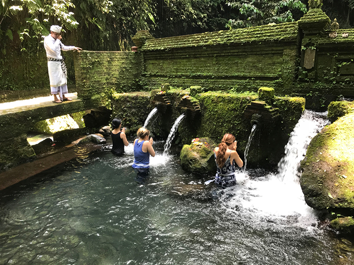 Water Purification Ceremony + Ubud -