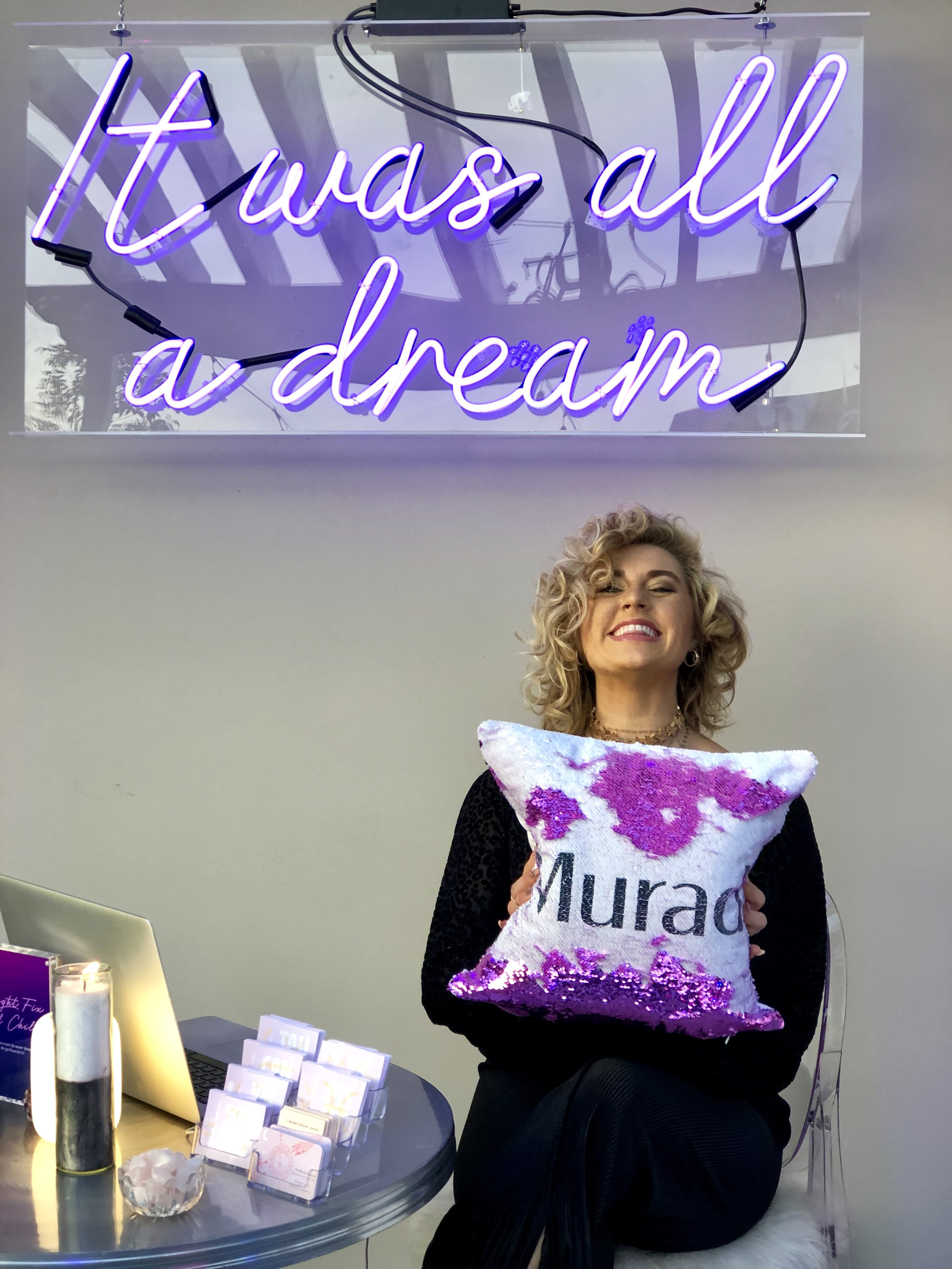 Mini Astrology Readings for Murad Product Launch 2.26.19 - 1.30.19- The most magical night partnered with one of my favorite skincare brands. I did mini sun and moon astrology reading fro the guests in Hollywood and had so much fun it does feel like a dream!