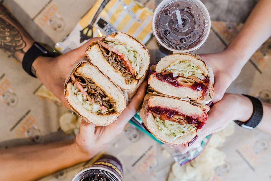 High Roller Sandwiches -