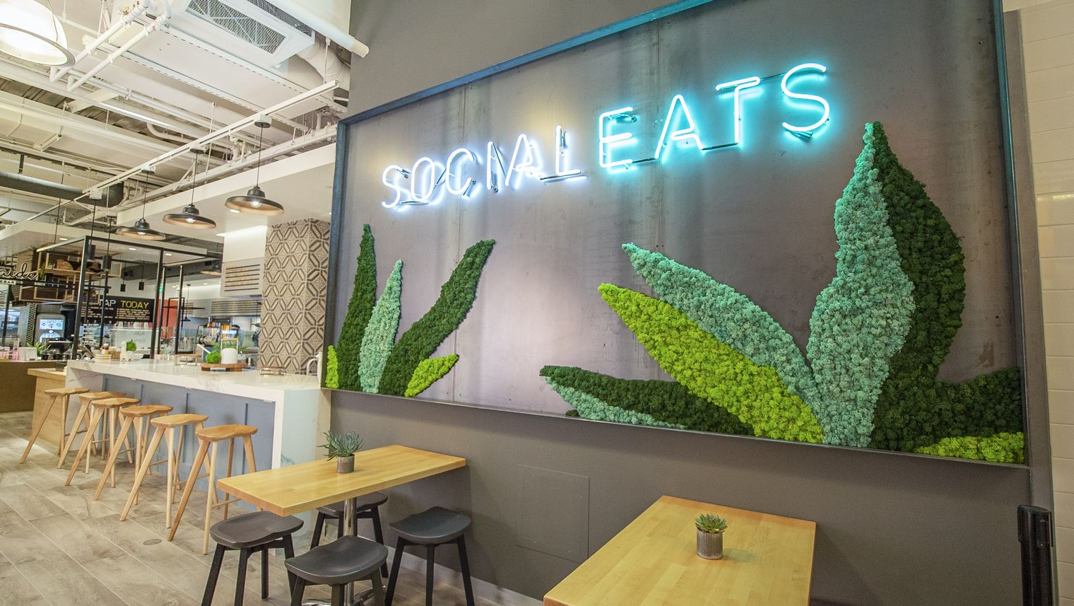 A NEW Food HALL FOR THE CURIOUS - On the first floor of The Gallery in Santa Monica