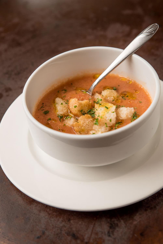 Gazpacho Andaluz - Chilled tomato soup