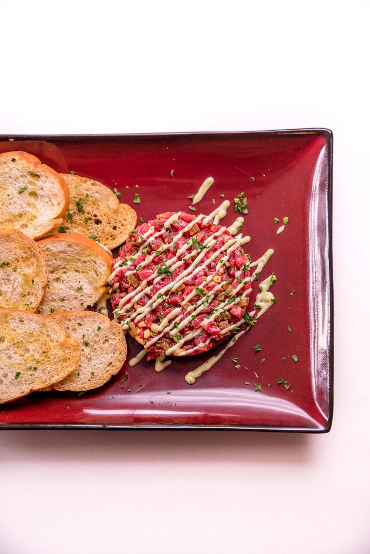 Carne cruda - Spanish style NY strip loin tartar