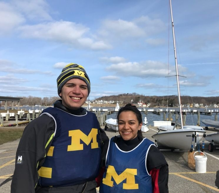 M. Ellsworth '21 and A. Agrawal ('20)