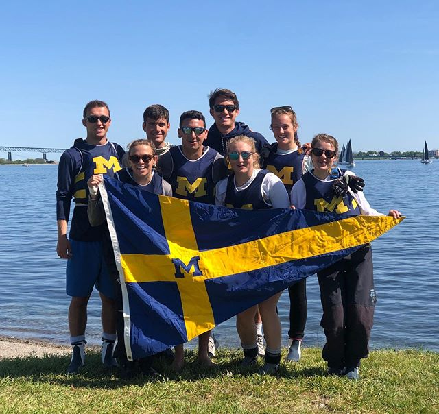 Our team had a great time at ICSA Coed National Championship! We are very proud of our sailors for competing in all three national events this week! #mgosail #umichsailing