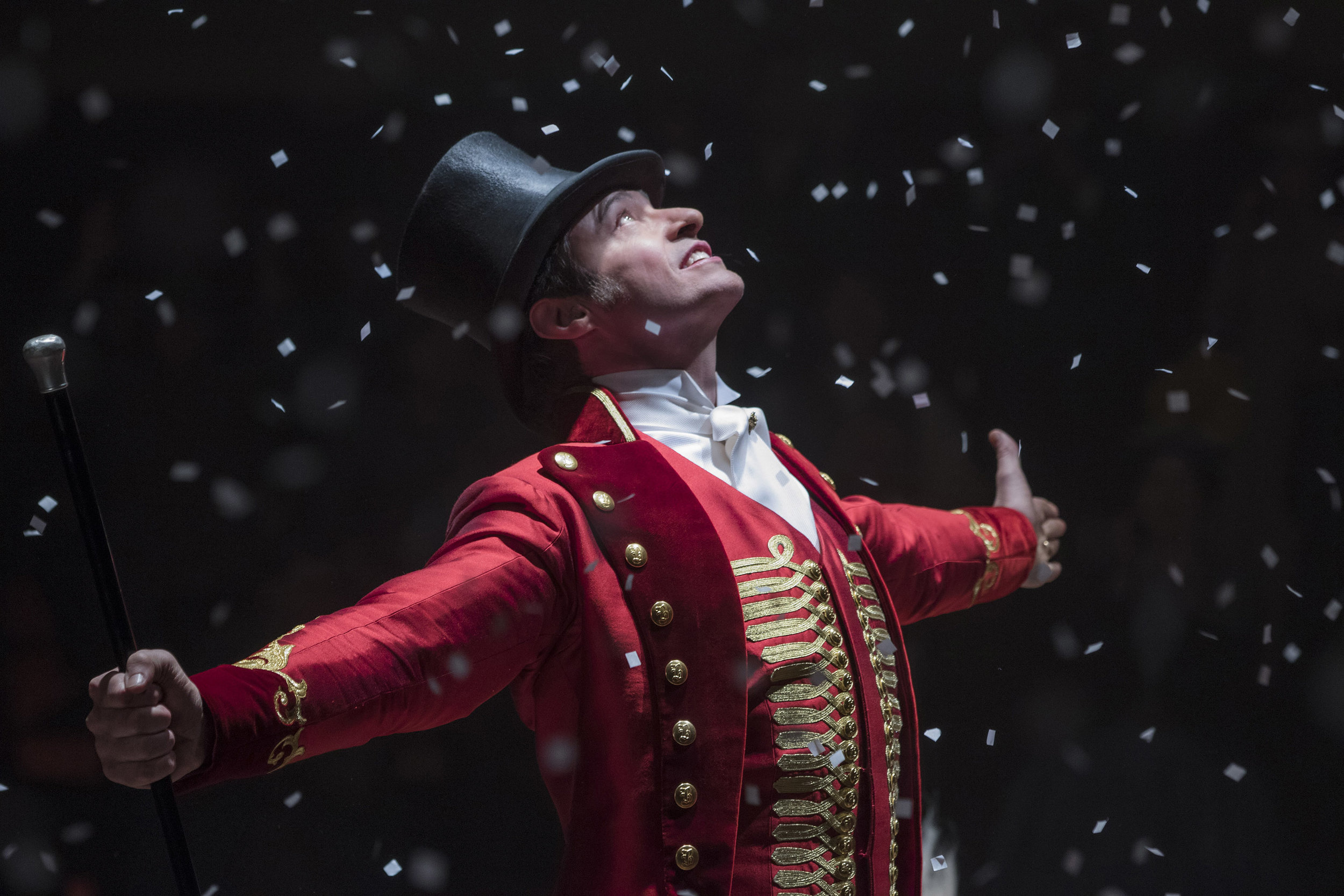 "Best Song frontrunner ""The Greatest Showman"" – Photo by Niko Tavernise © 2017. Courtesy of Twentieth Century Fox."