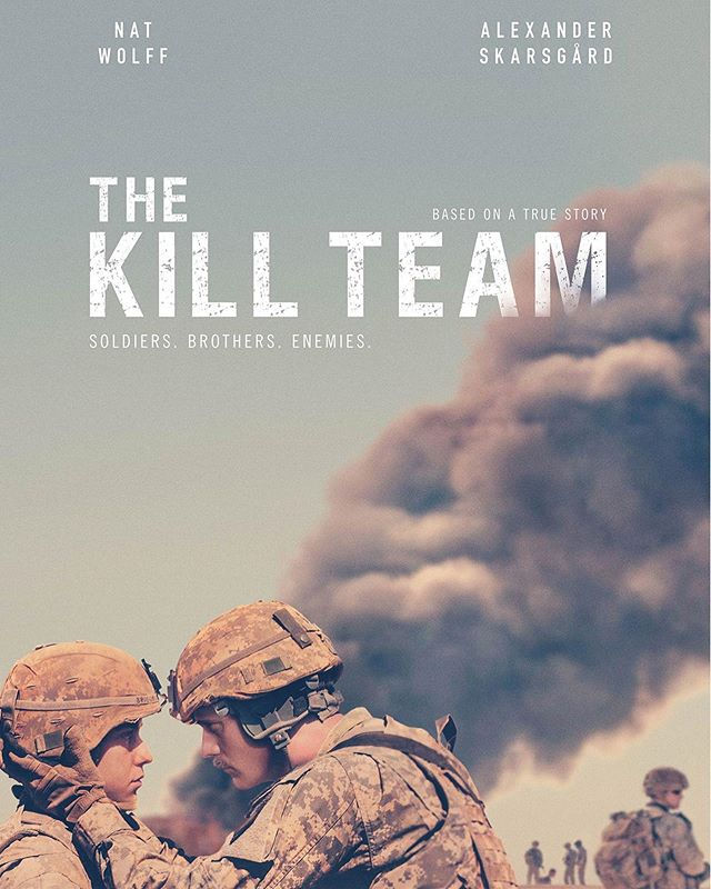 Today's #AFF26 feature, The Kill Team. This drama/mystery film has a whopping 100% on rotten tomatoes!