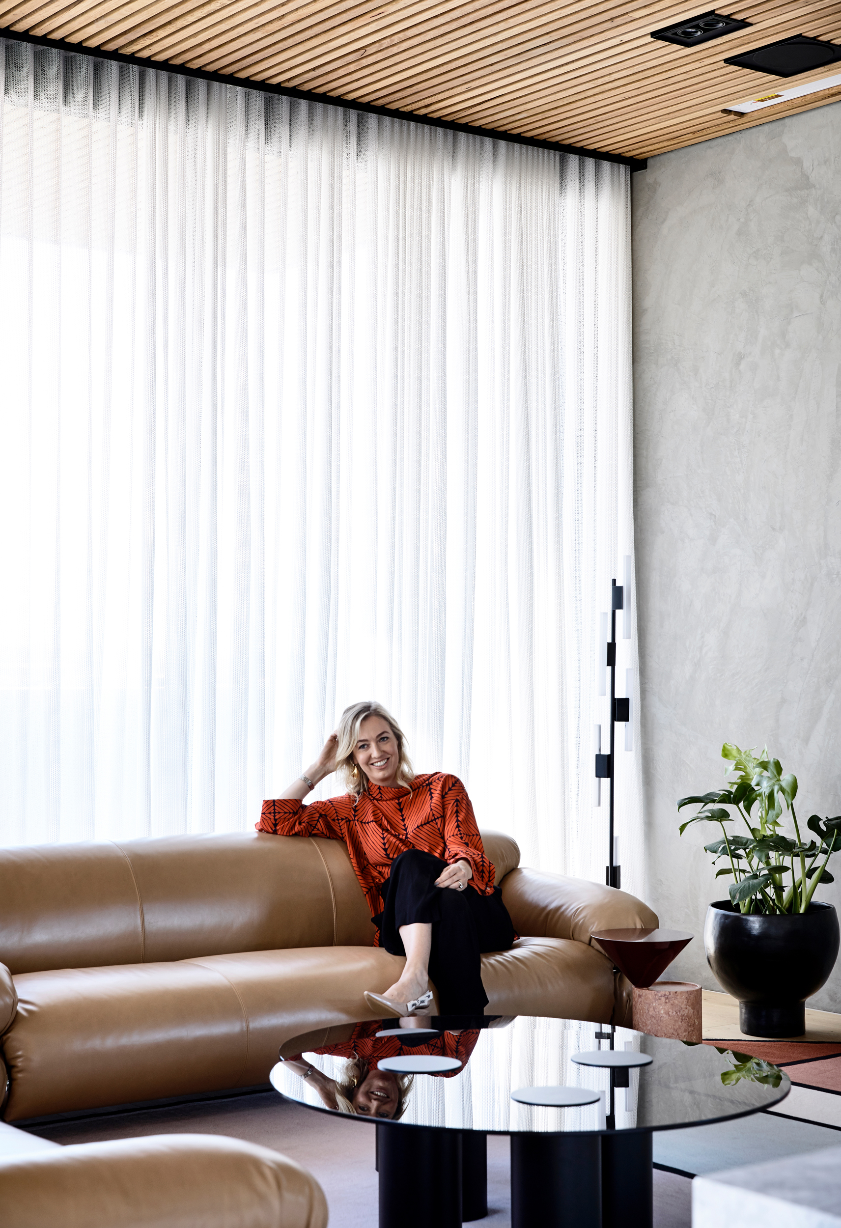 Bec van der Sluys - using both function and form to create beautiful and liveable spaces suited to the clients needs.