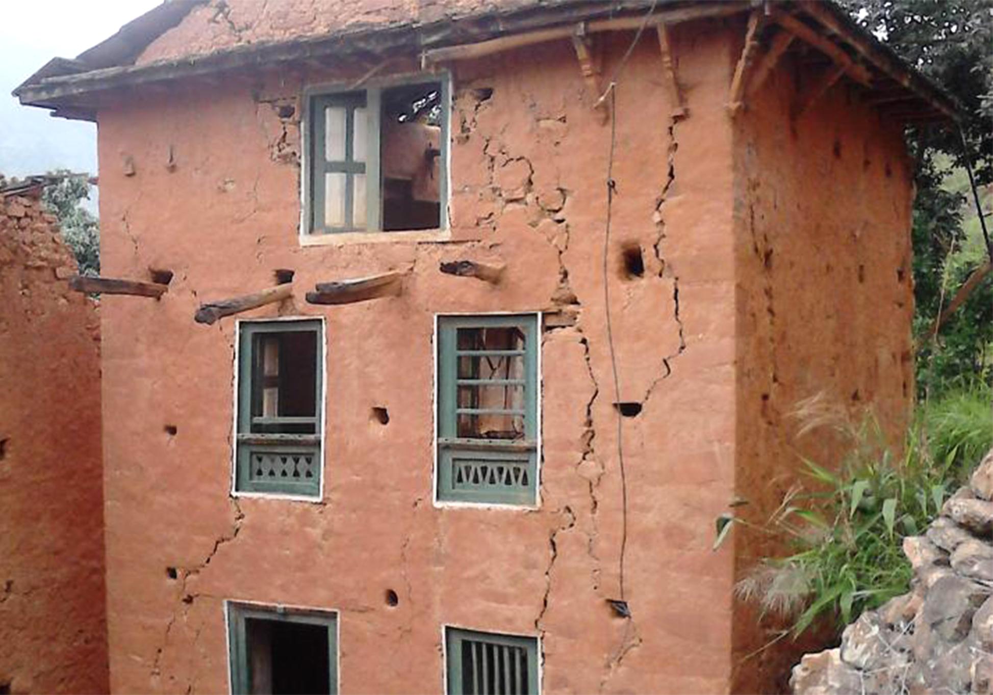 Nepal - Broken house 1.png