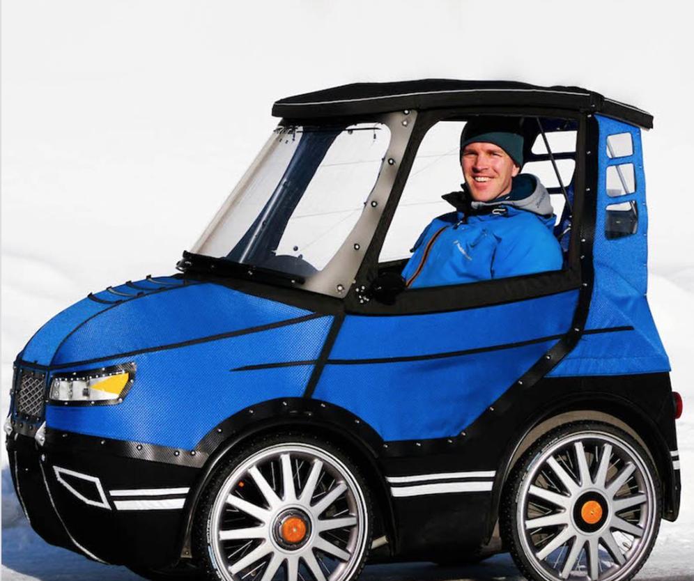 PodRide - a cool pedal car
