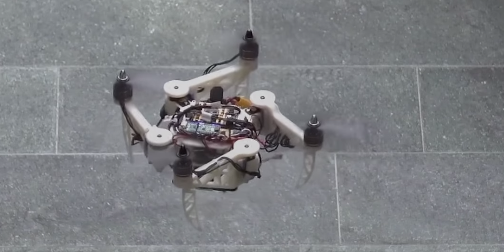 Shapeshifting drones for better humanitarian rescue work