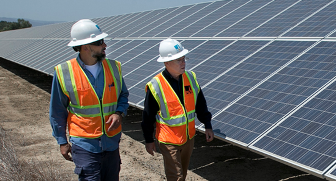 Solar panels that harvest energy from rain