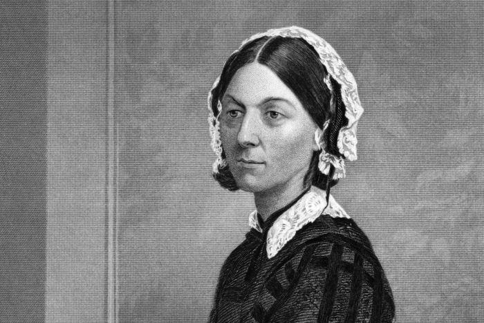 Click on the image of Florence Nightingale to visit the ABC page.