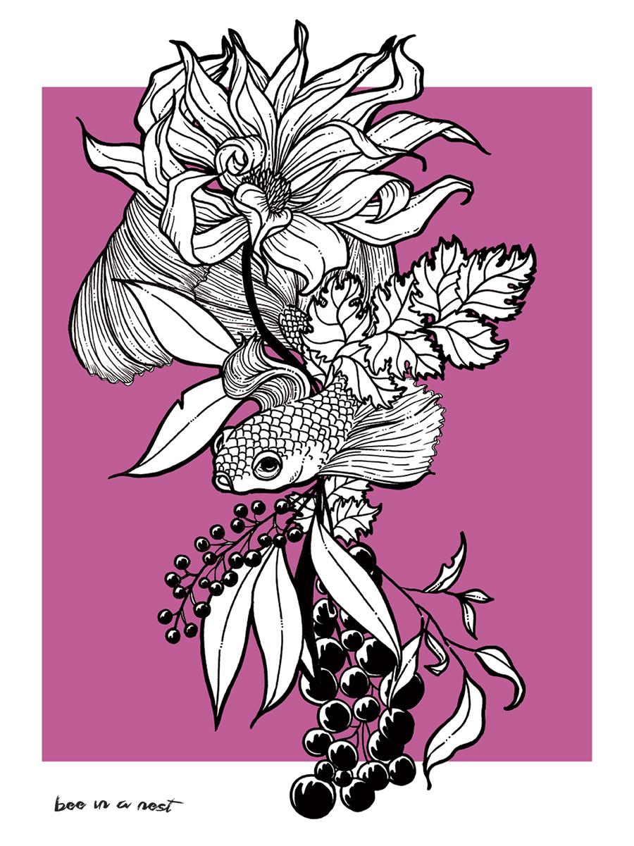 Il periodo della Vendemmia é quel magico momento d'incontro tra l'estate che appassisce e l'autunno che fiorisce. - Questa illustrazione é dedicata alla Valpolicella, luogo a me caro.