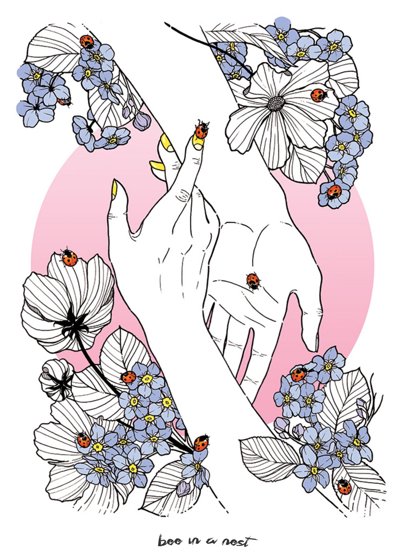 Voglio fare con te ciò che la primavera fa con i ciliegi. - Tratto dalla poesia