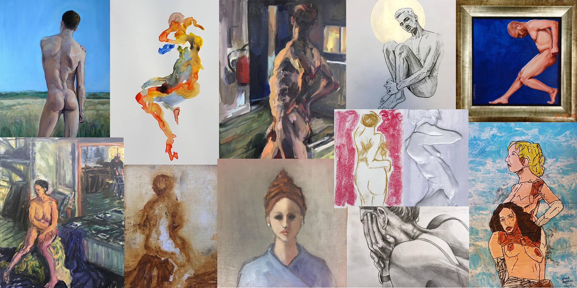 Pop-up exhibition - Celebrating Figuration's creative community