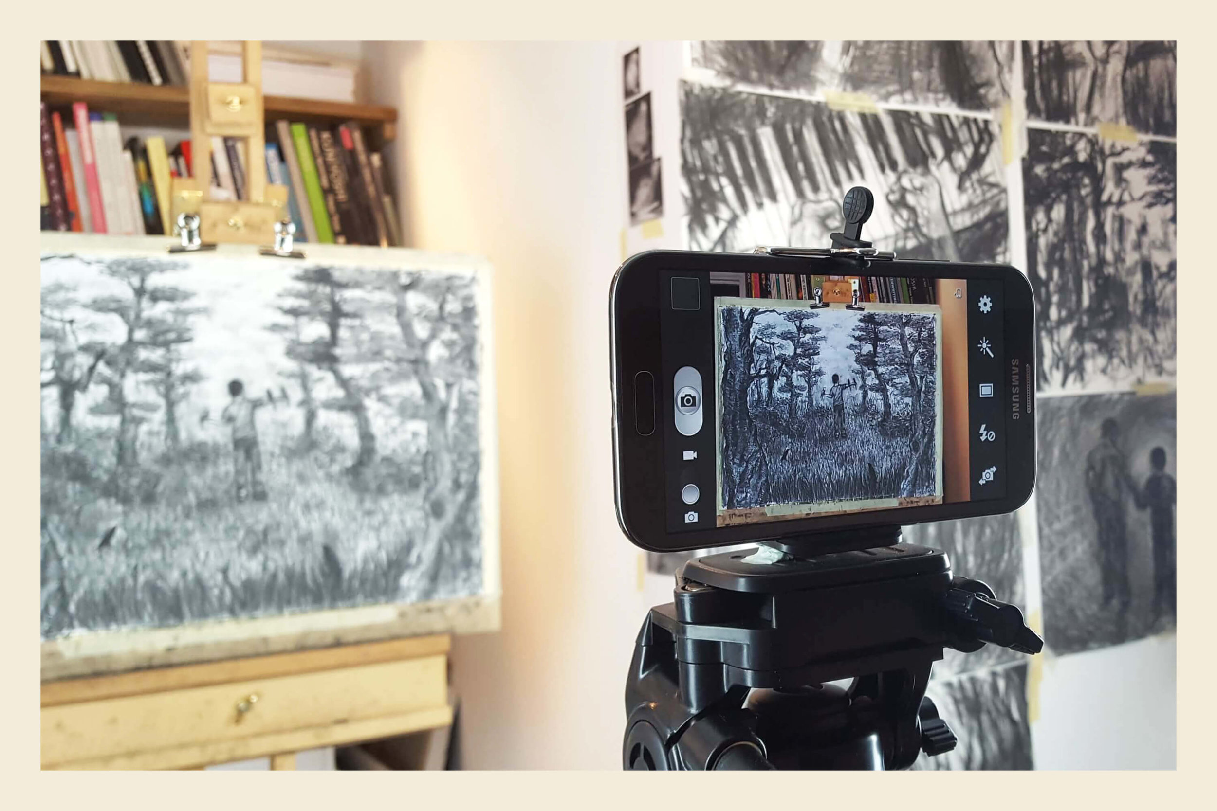 Charcoal Animation - A 5-day Minerva Workshop course