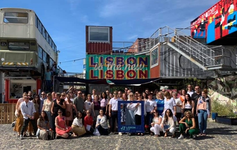 dXLisbon 38 bloggers/advocates from 15 countries