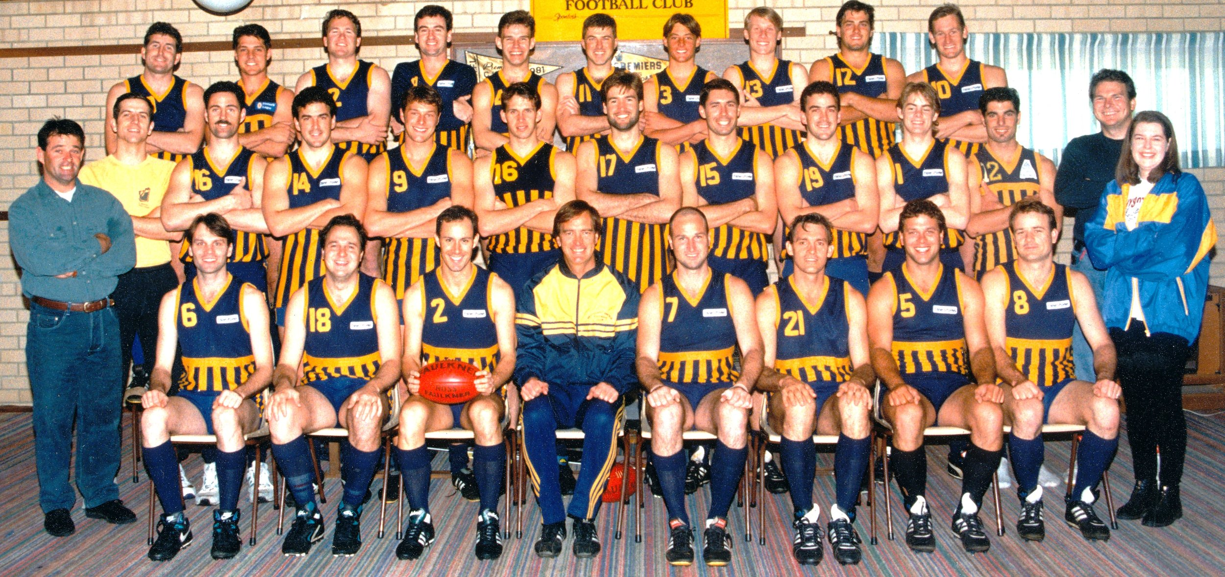 1994 - A Grade premiership side, coached by John Dimmer