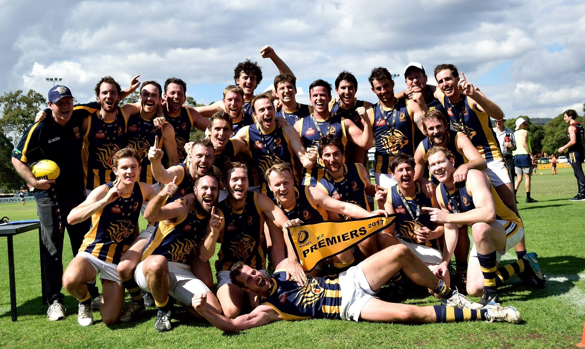 2017 - E2 premiership side, coached by Stephen King
