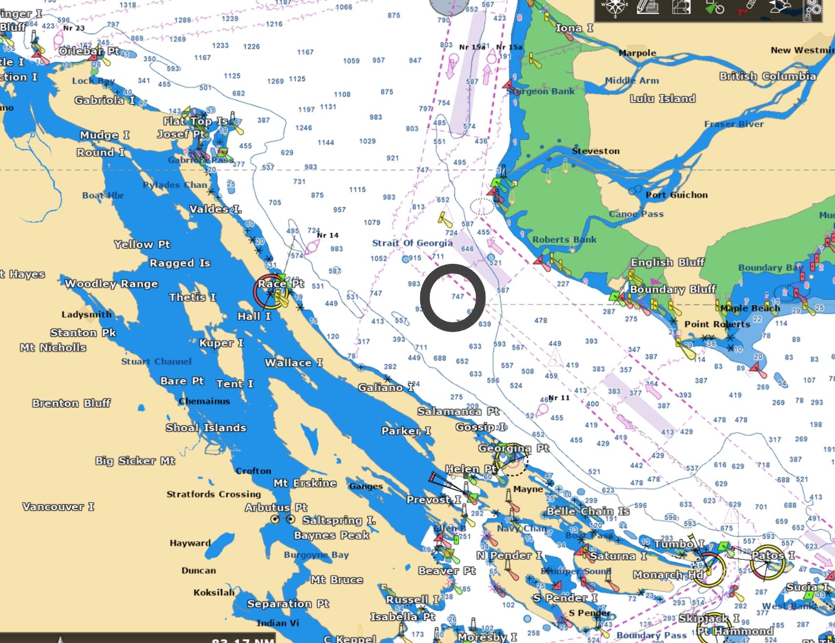 Strait of Georgia South - Forecast