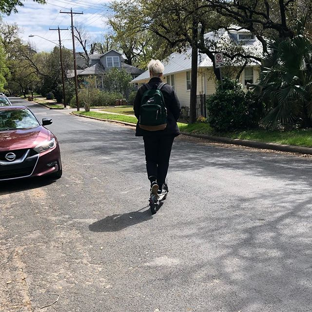 Austin has basically been equal parts scooters and music so far. On our way to CU29 for our last show at SXSW 😭 We go on at 1am, closing the Nicole Nite showcase!