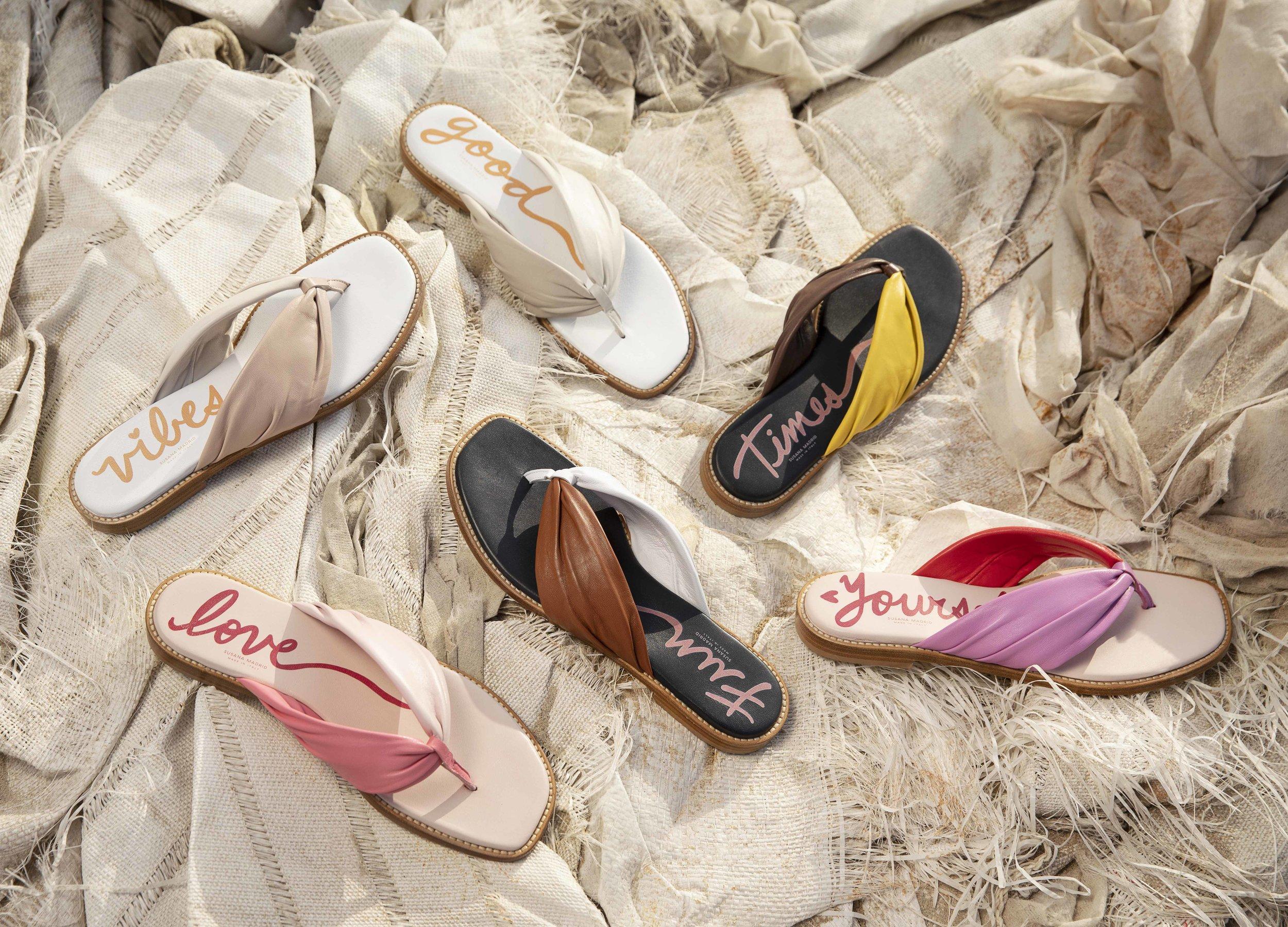 The Tribute Collection Verano Flip Flop, The Dreamer, The Explorer, Alma Rosa
