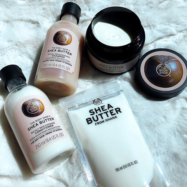 Look what came in the #BloggerMail--women-made and cruelty-free skincare products, just in time for #WomensMonth!! 😍💛 One of my favorite vegan skincare brands, The Body Shop, has launched its NEW shea butter 💛This creamy, melt-on-your-skin, and multi-purpose product is made from 192 shea nuts. It can be used in many different ways, too-- as a lip balm, a lip scrub, a body exfoliator, a hair treatment, a shower cream, and even a bubbling bath melt! Swipe ➡️ to read about all the DIY beauty hacks you can do at home! 😍 This week, I will be trying (and documenting!) each hack to see how do-able they really are. Stay tuned! • One thing I love about @thebodyshopph's shea line? It's WOMEN-MADE! The Body Shop practices FAIR-TRADE with the 640 women in Ghana, Africa. In addition to paying a fair price, #TheBodyShop further empowers the community of inspiring women by paying a premium since they started their partnership in 1994. This helps the Tungteiya Women's Association of Ghana invest in healthcare, clean water, sanitation, and education. • There's a SHE in every SHEA! Thank you for practicing fair trade and empowering women and families, @thebodyshop! 💜 Sana all! 🙌🏼 Happy #InternationalWomensDay! • Disclaimer: This is not a paid post. But I received these products for free in exchange of a review--watch out for it on #HeyHersheyBlog.com 💛 thank you for the trust, @thebodyshopph, #CatalystPRmanila, and @terry_dy 😘 #CareWithShea #TheBodyShopPH