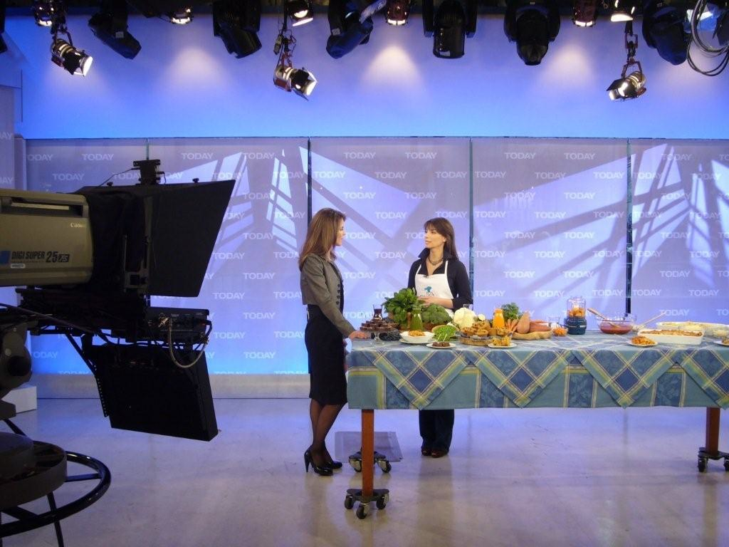 """One of Missy's many appearances on the  Today Show  """"As the mother of a very picky eater, the only way to get my son Josh to eat his veggies is to sneak it, and Missy's recipes are not only creative and delicious, they are a lifesaver for this often over-worried mom."""" Natalie Morales,  Today Show  host"""