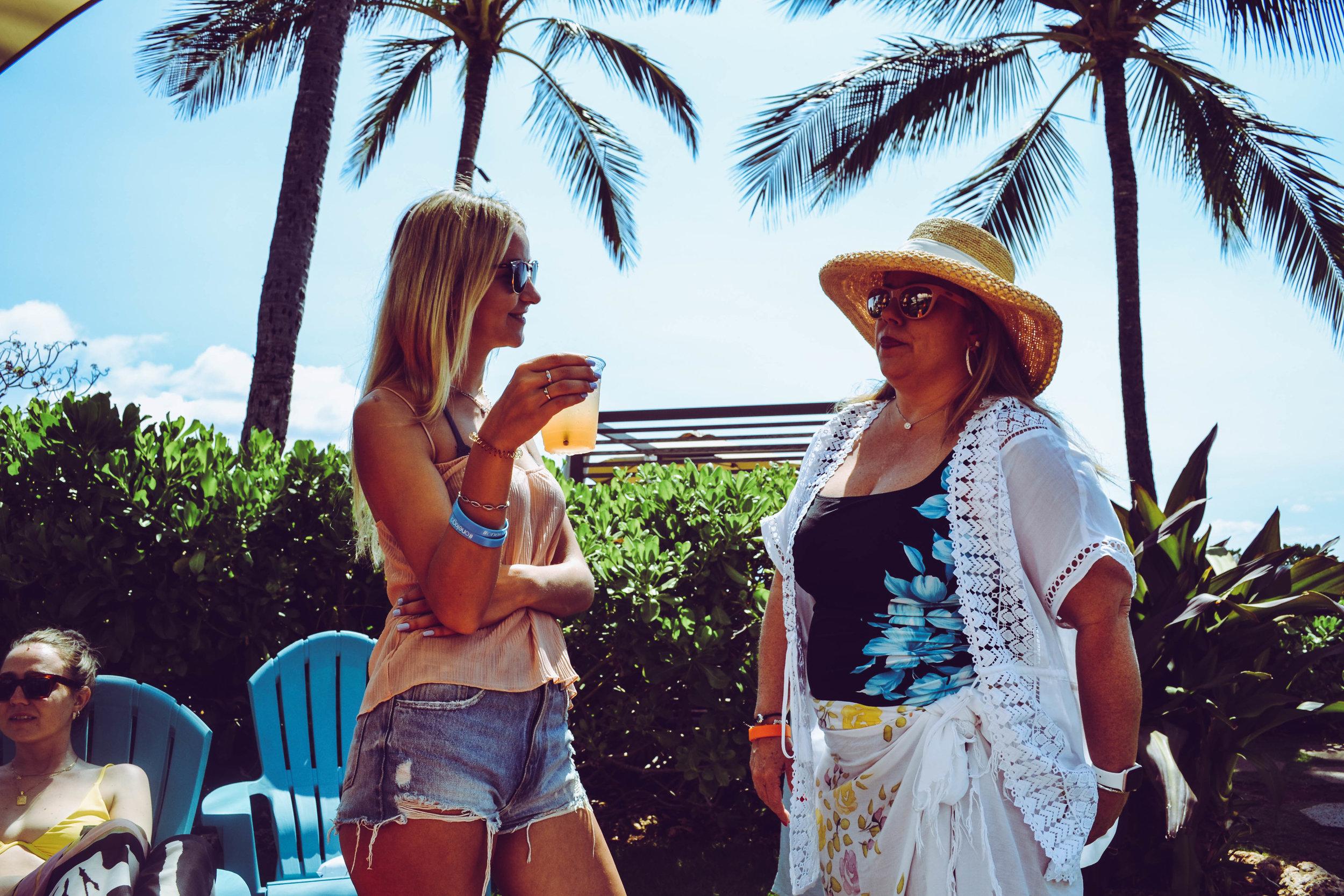 picnic networking.  four seasons. hawaii.
