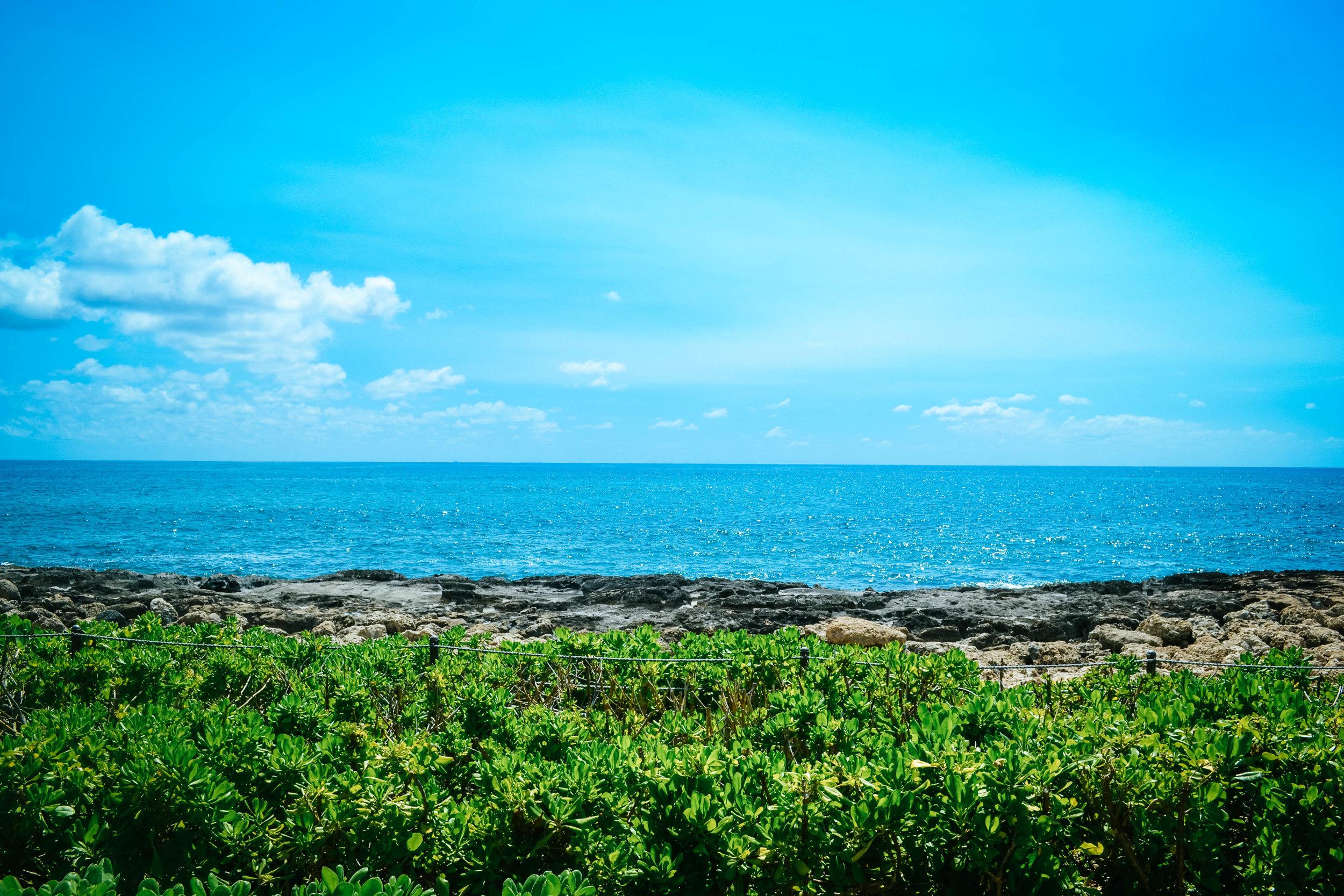 horizon.  oahu. hawaii. usa.