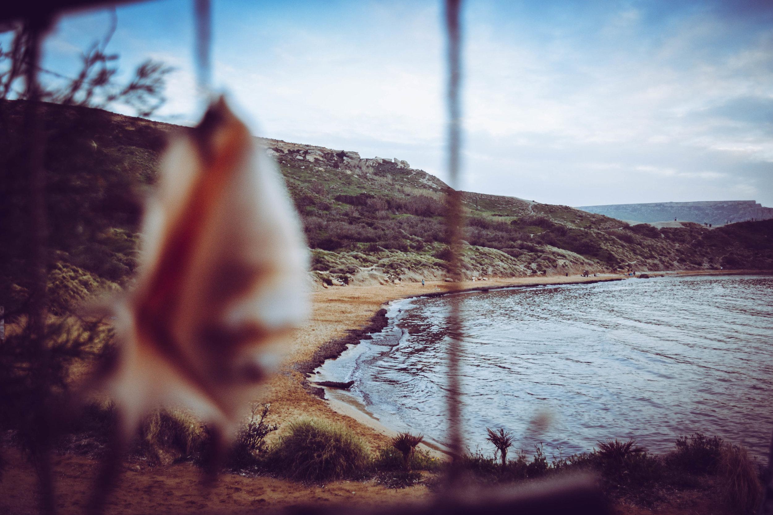 yoga retreat.  golden bay, Malta.