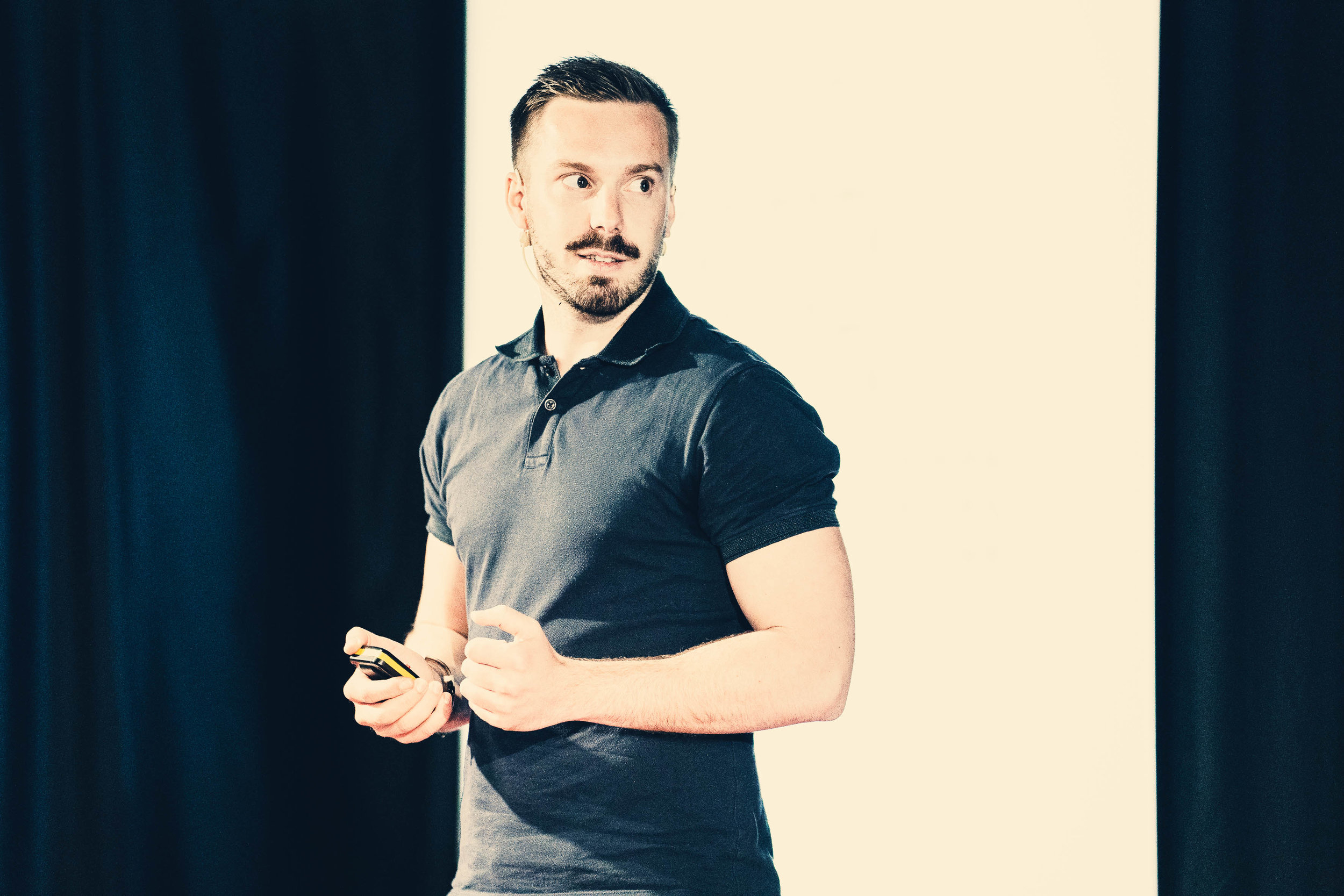 TEDx talk. esade campus. Barcelona. spain.