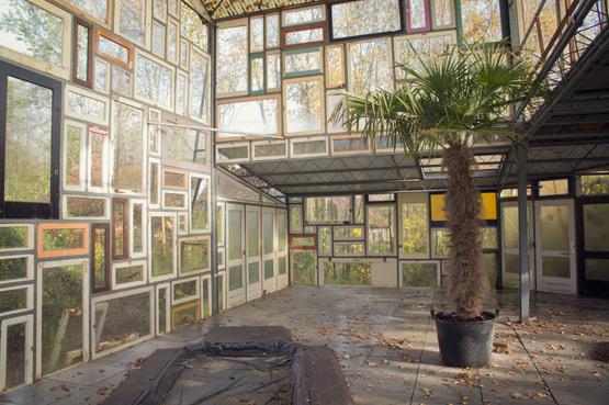 Open Space paviljoen op Verbeke Foundation door Joelix