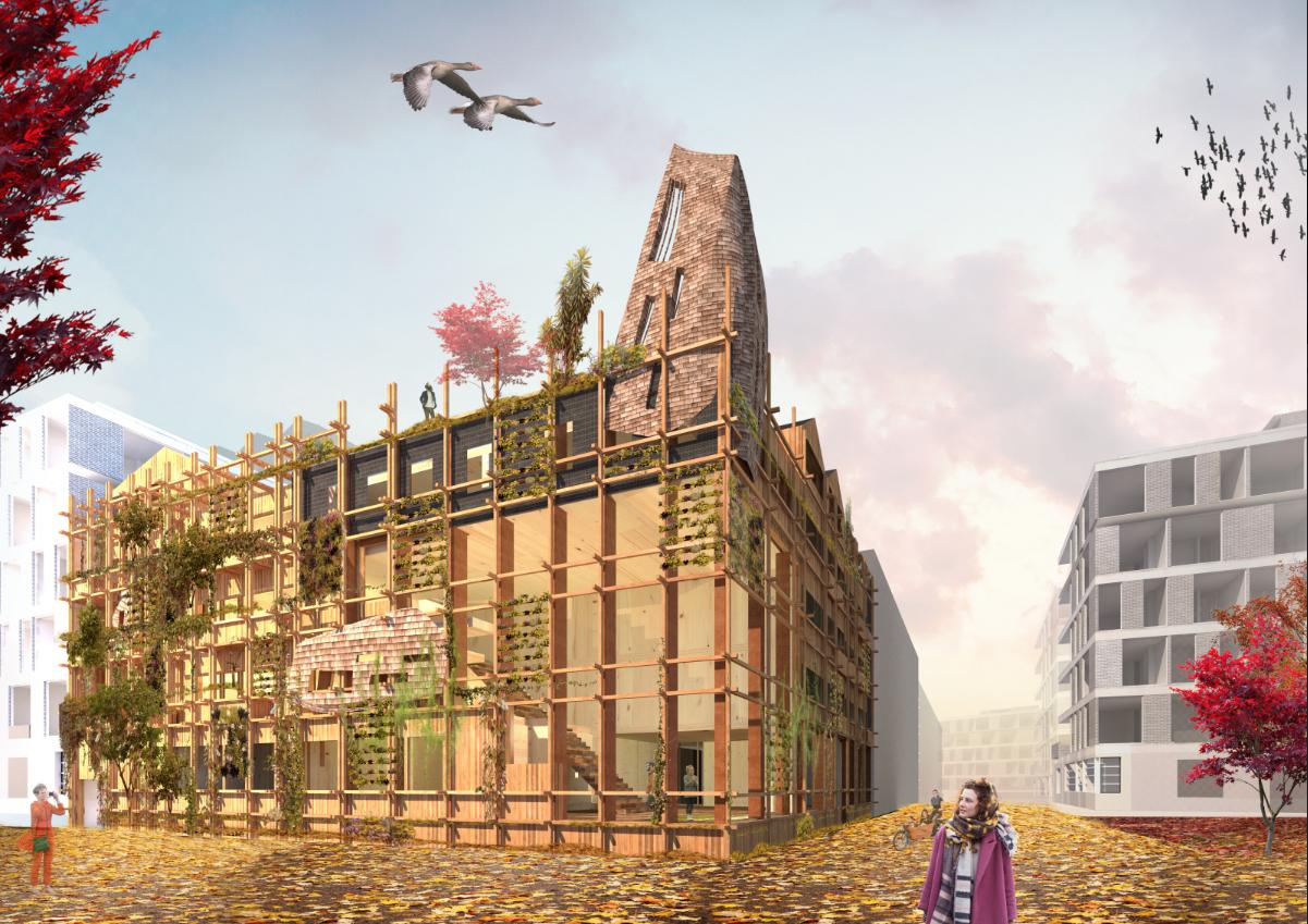 Visualisatie De Warren, Natrufied Architecture