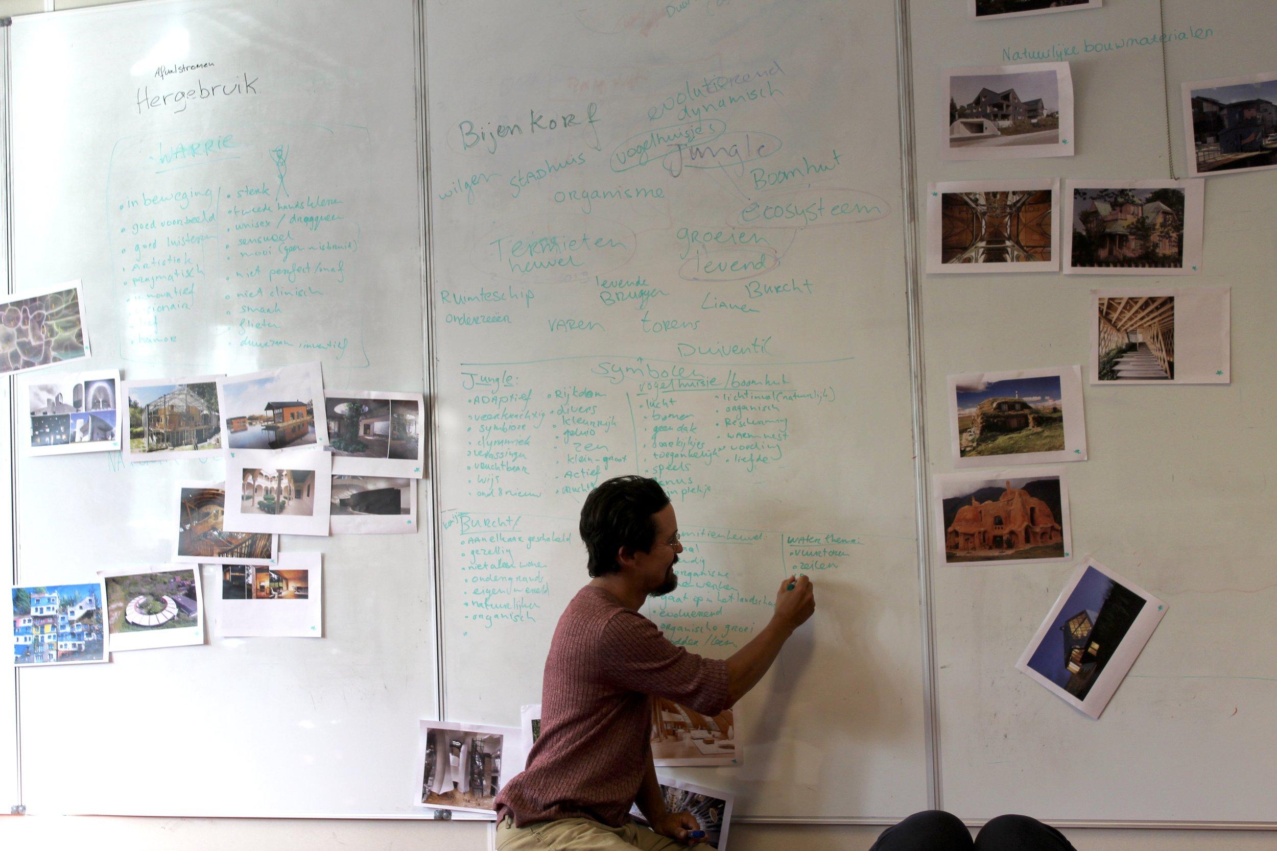 In 7 ontwerpsessies naar een voorlopig ontwerp met 50 mensen (c) Winona Boomkens