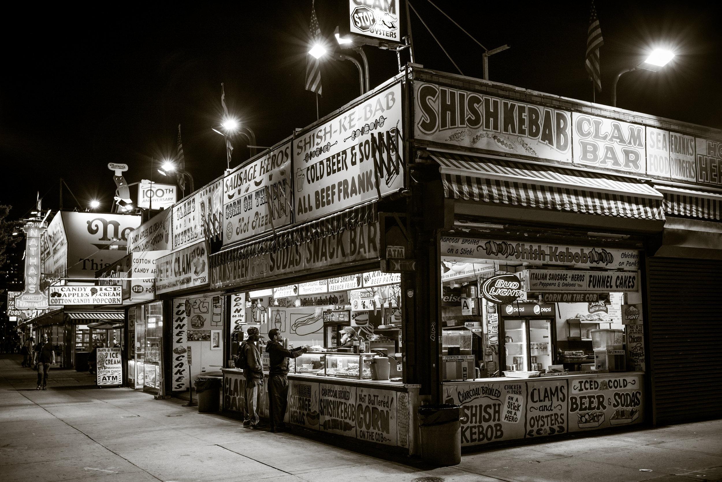 Surf Avenue, Coney Island, Brooklyn, New York.  Leica M240, 35mm f1.4 Summilux