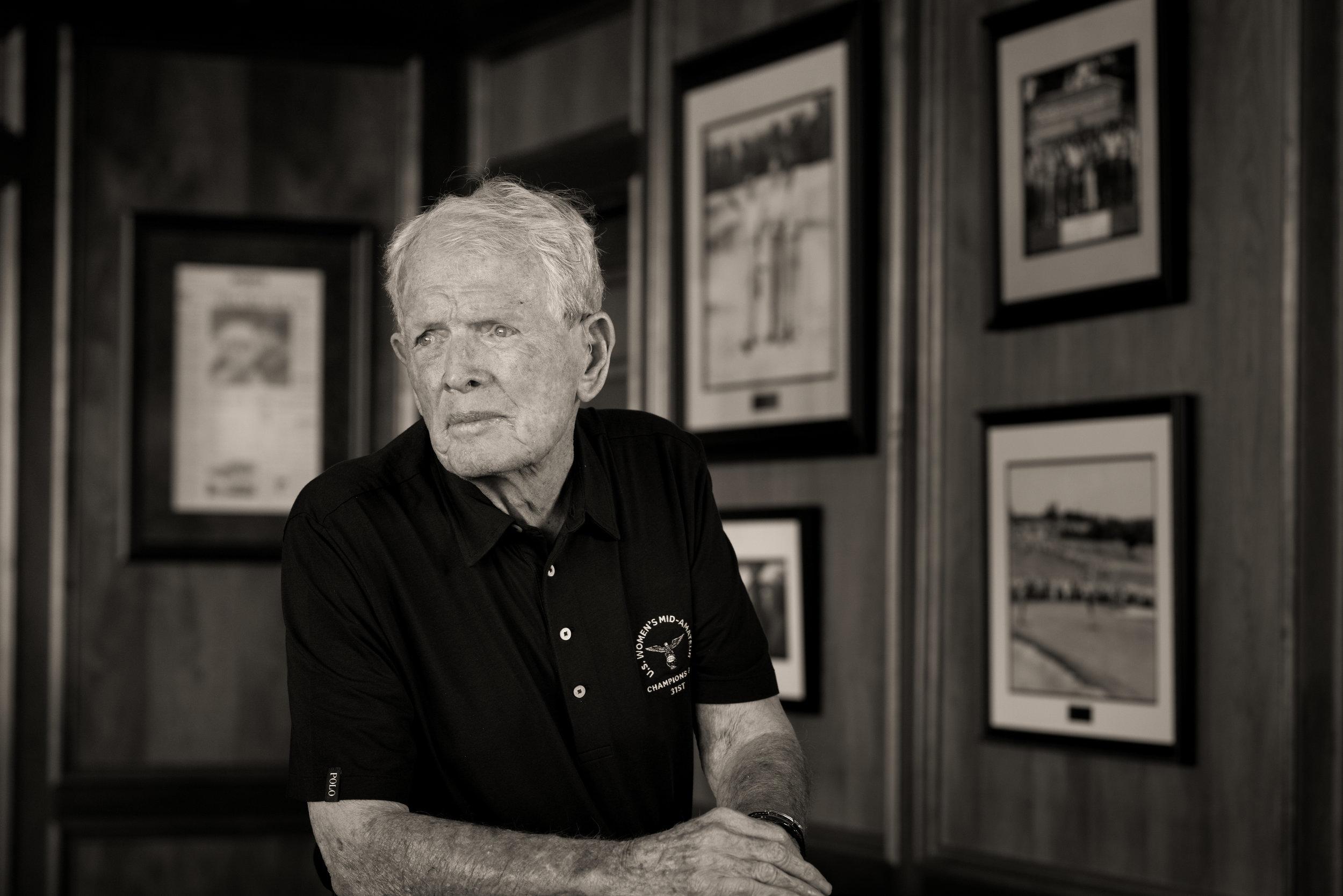 Jack Burke, Jr., 1956 Masters Champion. Champions GC, Houston, Texas. Sony A7rii, Leica M 75mm f1.4 Summilux