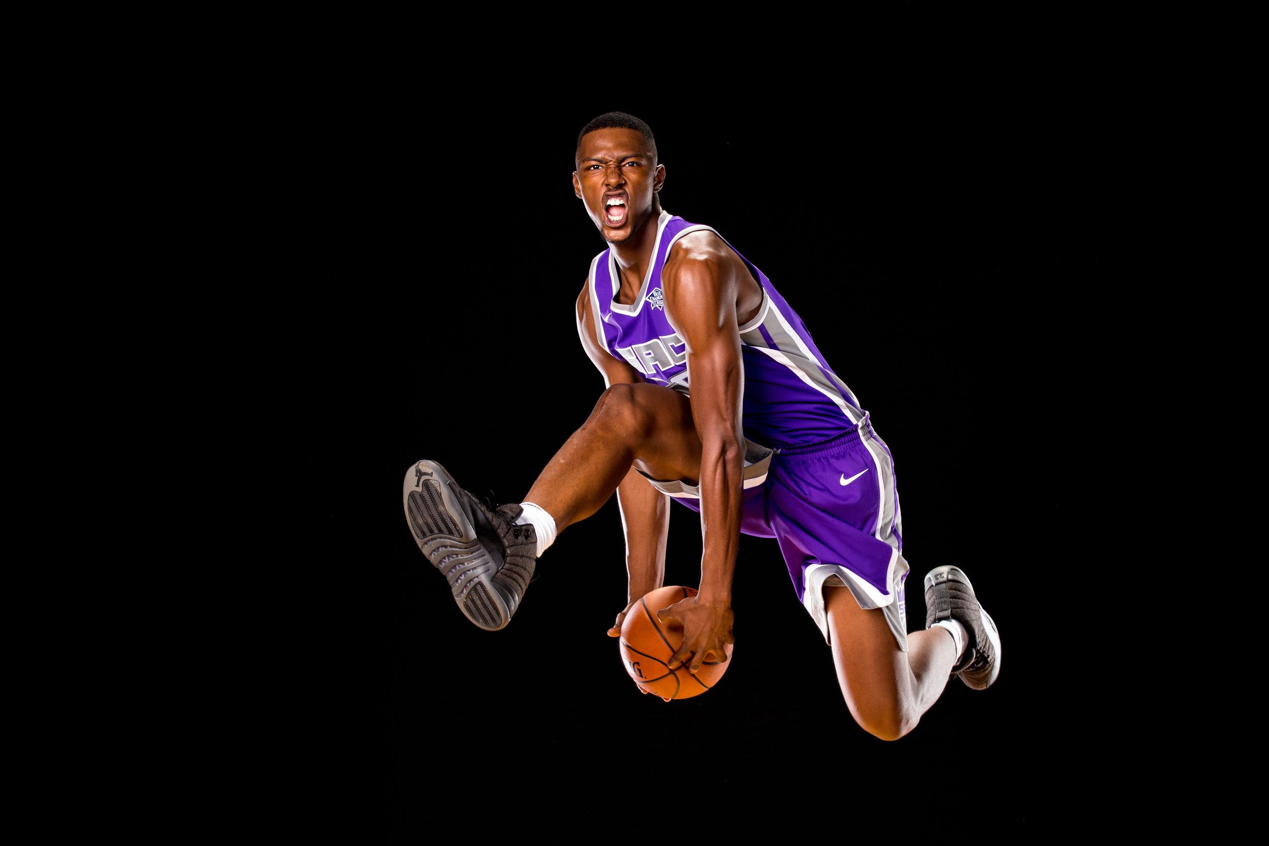 Harry Giles, Sacramento Kings. 2017 NBA Rookie photo shoot, Tarrytown, New York. Canon 1DX, EF 70-200mm f2.8L