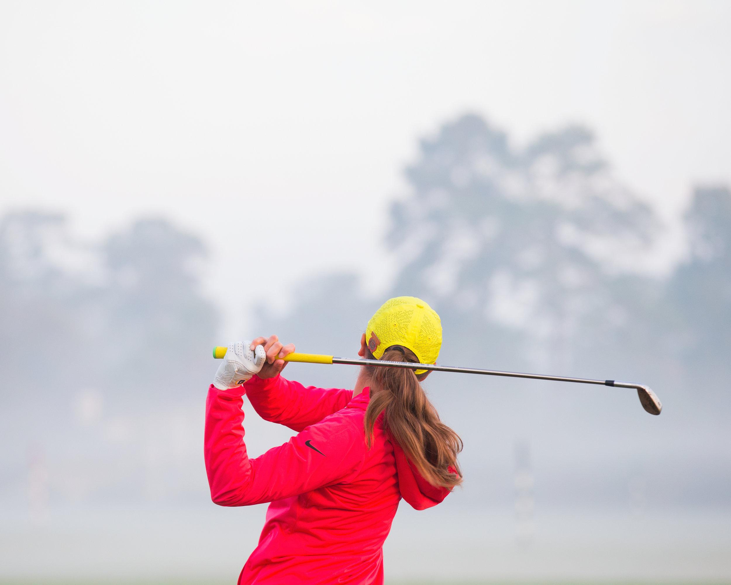 Olivia Herrick, 2017 U.S. Women's Mid-Amateur Championship. Champions Golf Club, Houston, TX. Canon 1DX, EF 70-200mm f2.8L