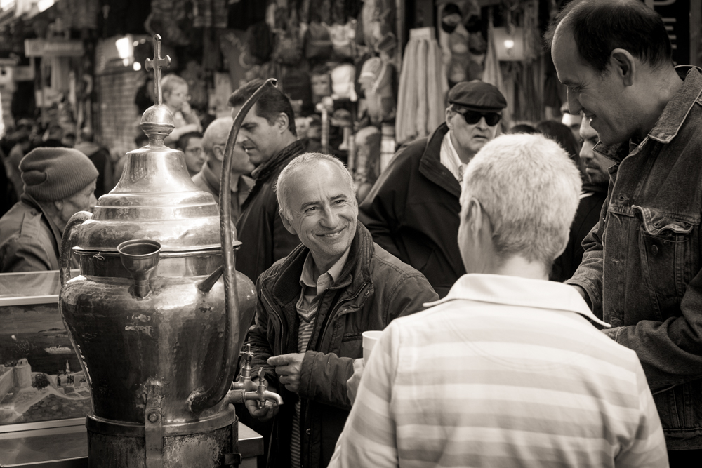 Salepi vendor, Monastiraki,   Athens .Sony A9, Leica 50mm f1.4 Summilux