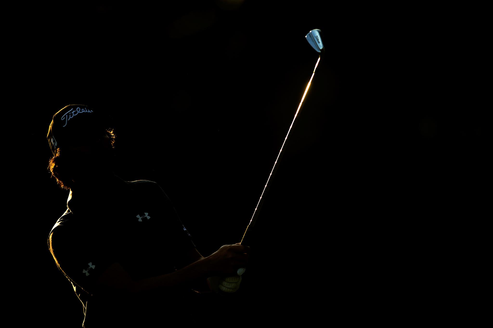 Martin Flores, 2015 Wyndham Championship. .  Sedgefield Country Club,Greensboro, North Carolina. Canon 1DX, Canon EF 400mm f2.8L II