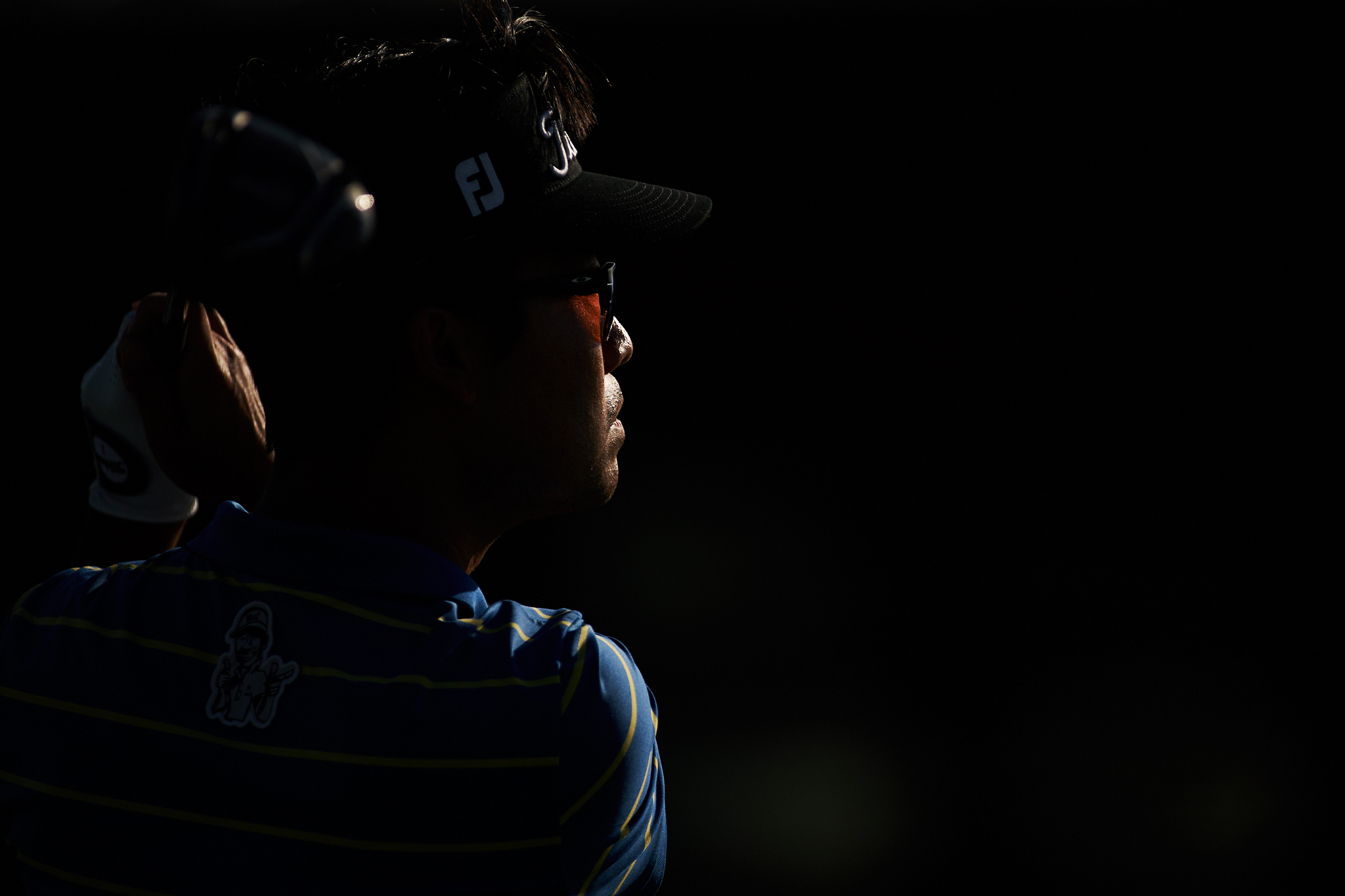 Kevin Na, 2018 Dell Technologies Match Play Championship.  Sony A9, Canon EF 400mm f2.8 L-II lens  with a Sigma MC-11 Canon EF-Sony E Mount adapter.