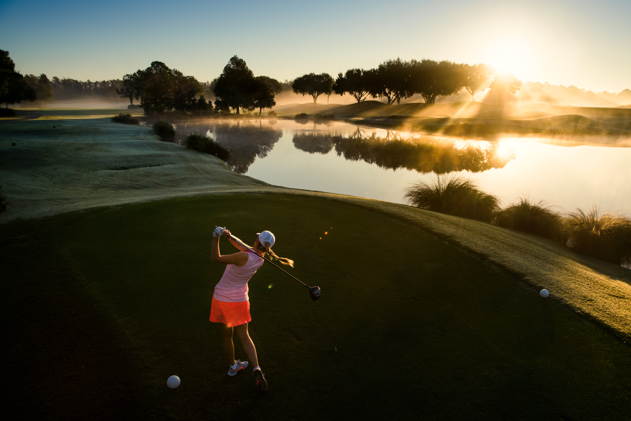 2016 Dick's Sporting Goods golf catalog shoot, Grand Cypress, Orlando, Florida.  Sony A7rII, Leica 35mm f1.4 Summilux-M.