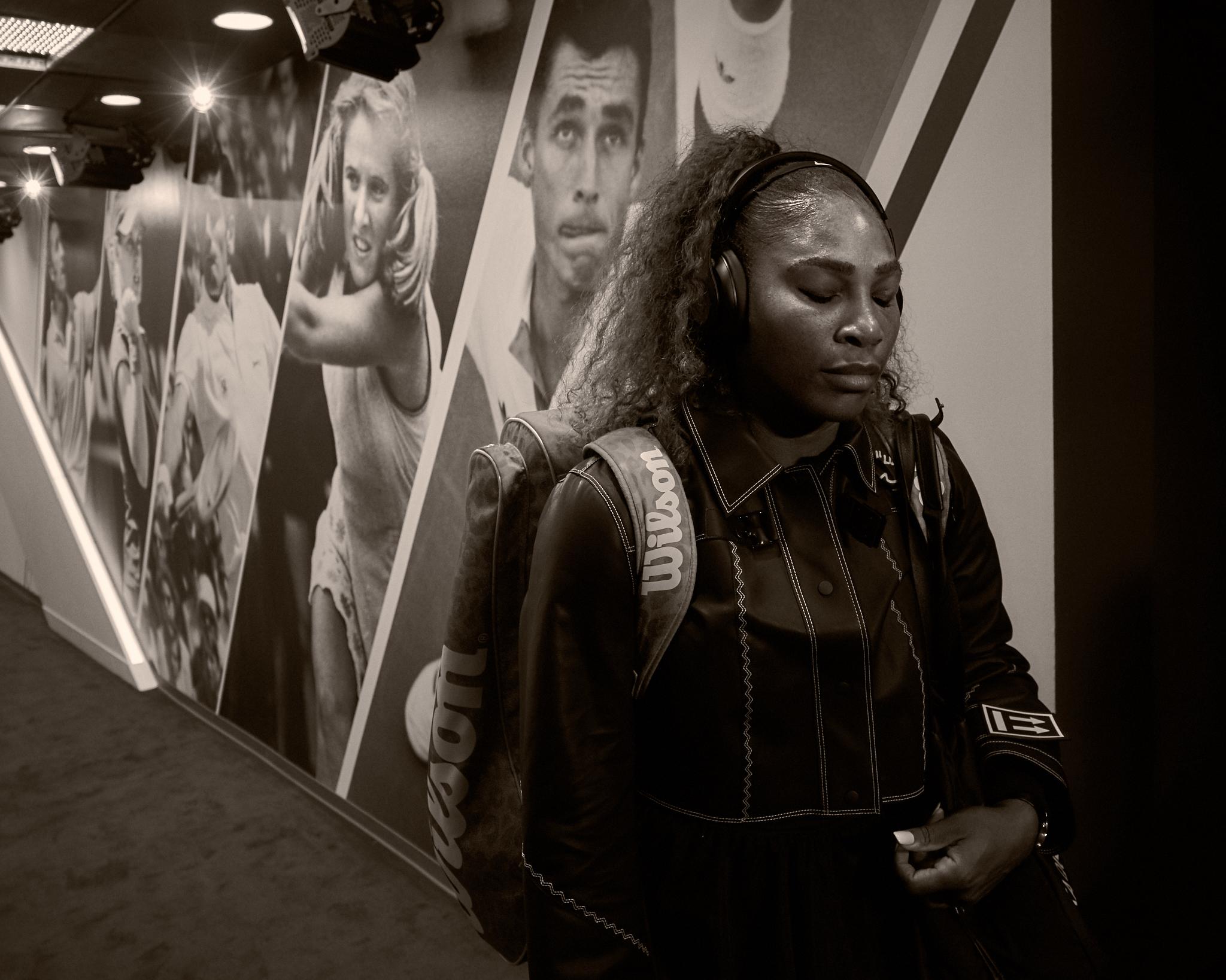 Serena Williams, 3rd round Women's Singles  Sony A7rIII, Sony 24-70mm f2.8 GM