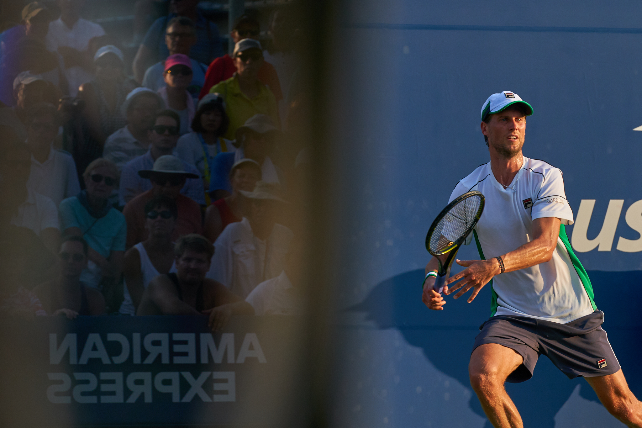 Andreas Seppi, Court 5, 2nd round Men's Singles  Sony A9, Sony 70-200mm f2.8 GM-OSS