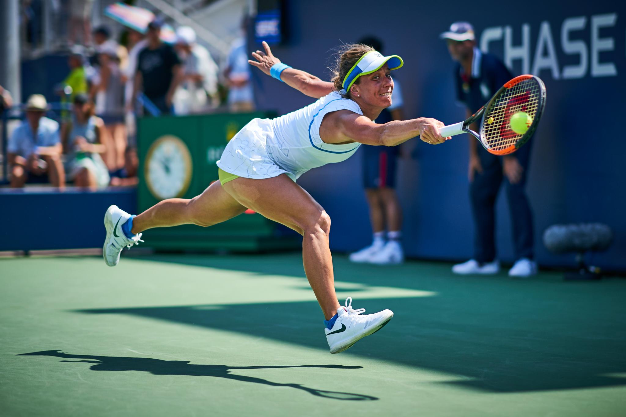 Barbora Strycova, Court 5, 2nd round Women's Singles  Sony A9, Sony 85mm f1.4 GM