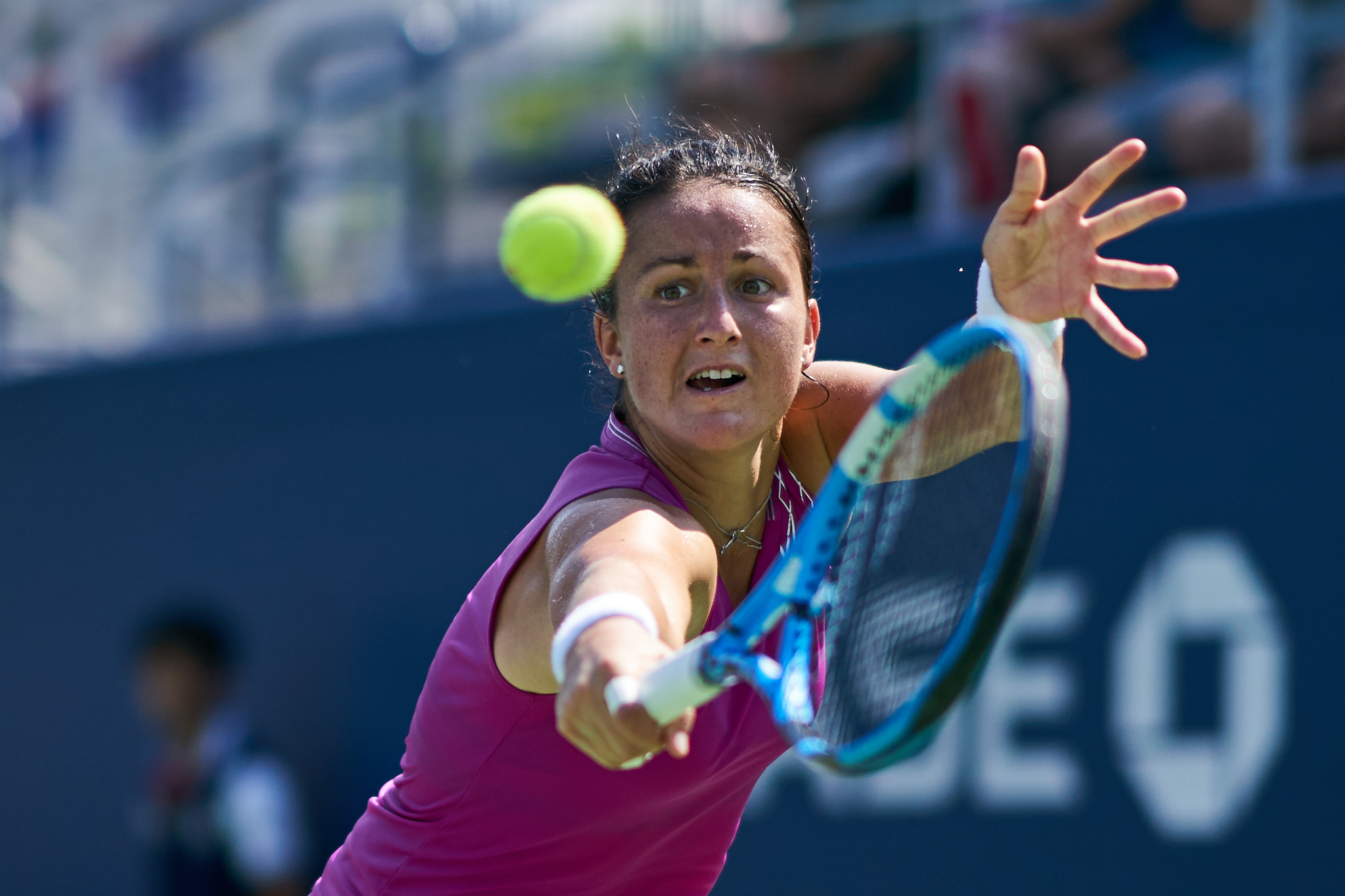 Lara Arruabarrena, Court 5, 2nd round Women's Singles  Sony A9, Sony 85mm f1.4 GM