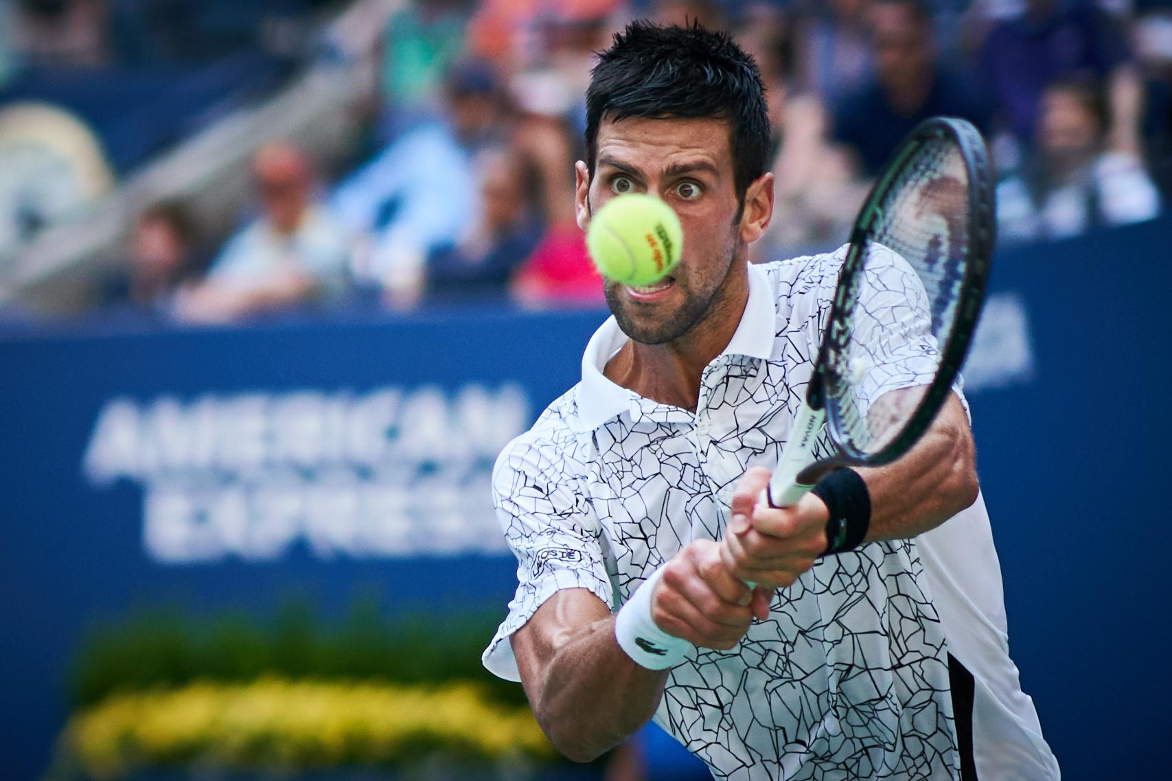 Novak Djokovic, Arthur Ashe Stadium, 3rd round Men's Singles  Sony A9, Sony 85mm f1.4 GM