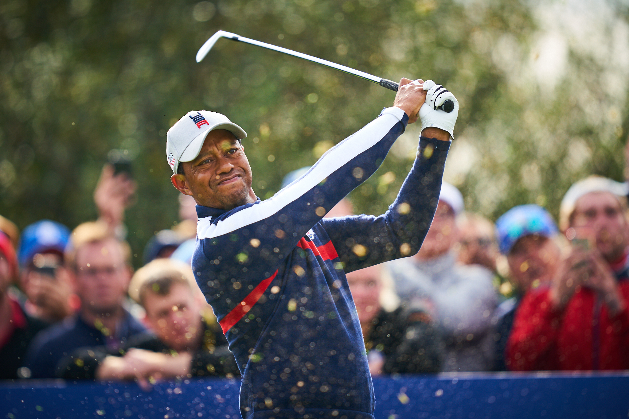 Tiger Woods, Friday Foursomes  Sony A9, Sony 400mm f2.8 GM-OSS